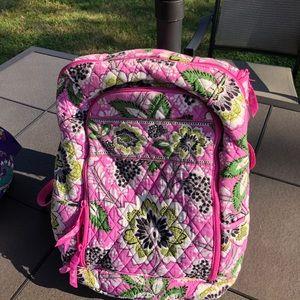 Vera Bradley Pink Swirl Backpack